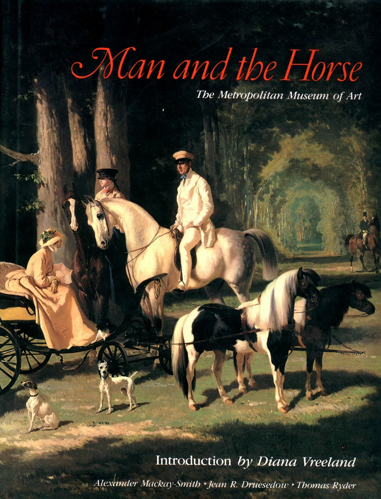 Man and the Horse [on equestrian fashion]. Diana Vreeland, introd.
