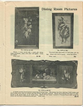 Catalogue 44; Manufacturers of Art Novelties in Mirrors . . . Pictures, &c.