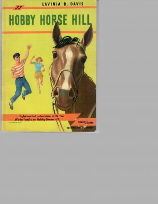 Hobby Horse Hill -- 1939 UK edition AND 1st US paperback edition (1949)